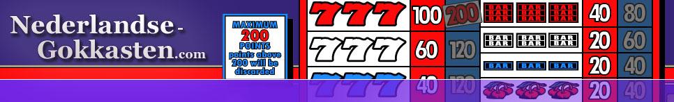 Nederlandse Gokkasten | Veel info over online slotmachines en fruitautomaten